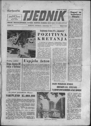 Karlovački tjednik: 1963 • 30