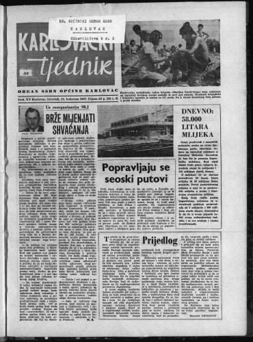 Karlovački tjednik: 1967 • 33
