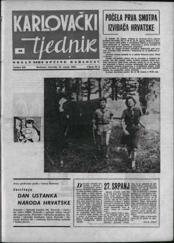 Karlovački tjednik: 1964 • 29
