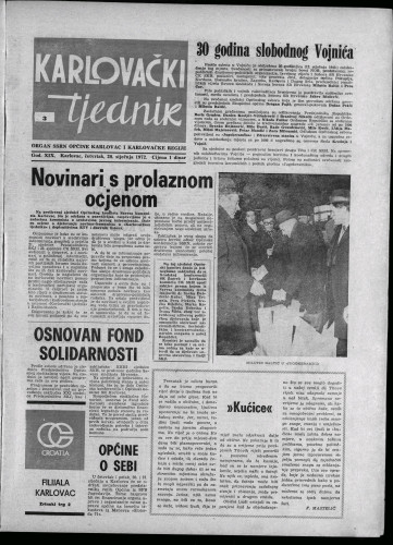 Karlovački tjednik: 1972 • 3