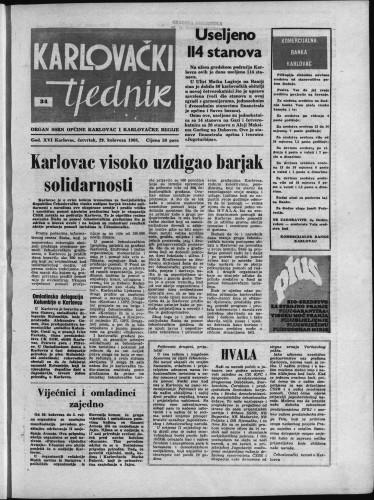 Karlovački tjednik: 1968 • 34