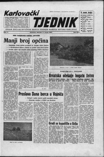 Karlovački tjednik: 1957 • 28