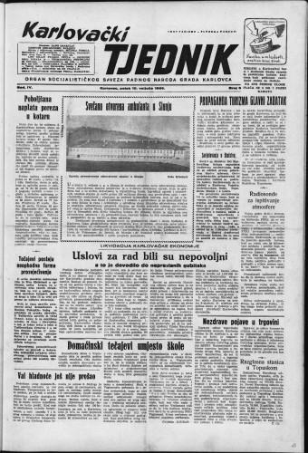 Karlovački tjednik: 1956 • 6