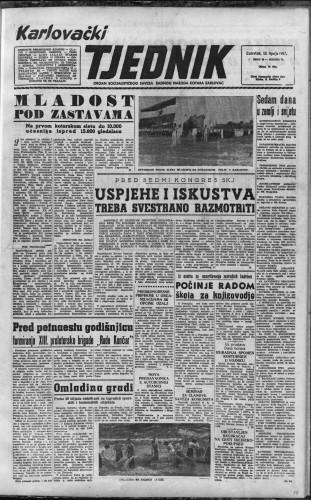 Karlovački tjednik: 1957 • 24