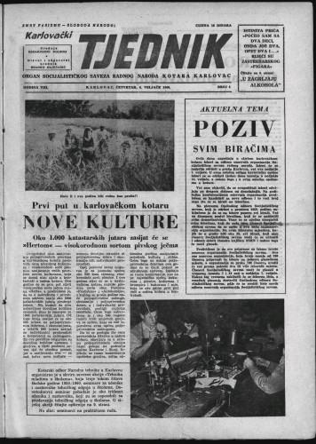 Karlovački tjednik: 1960 • 4