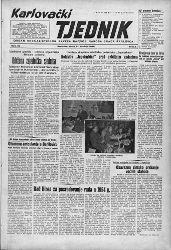 Karlovački tjednik: 1955 • 3