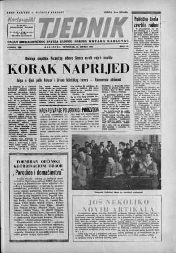 Karlovački tjednik: 1959 • 25