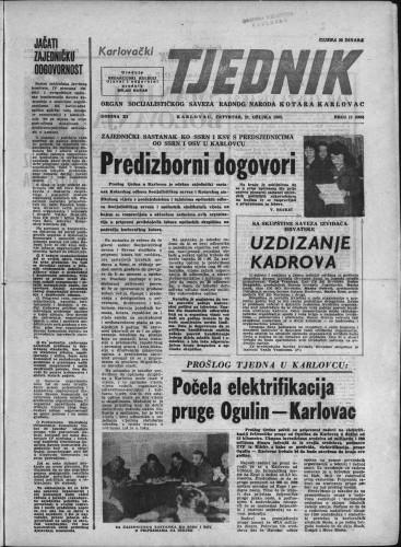 Karlovački tjednik: 1963 • 11