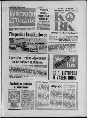 Karlovački tjednik: 1973 • 38