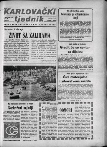 Karlovački tjednik: 1980 • 31