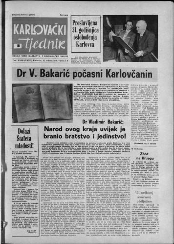 Karlovački tjednik: 1976 • 20