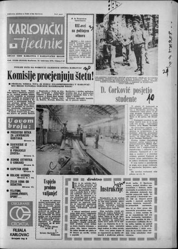 Karlovački tjednik: 1976 • 33