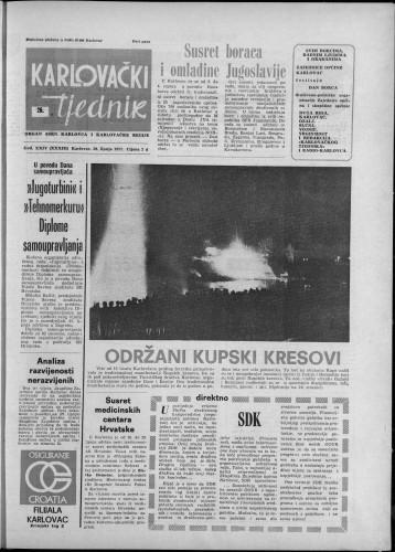 Karlovački tjednik: 1977 • 26