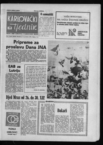 Karlovački tjednik: 1975 • 50