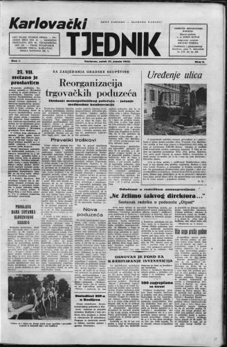 Karlovački tjednik: 1953 • 5