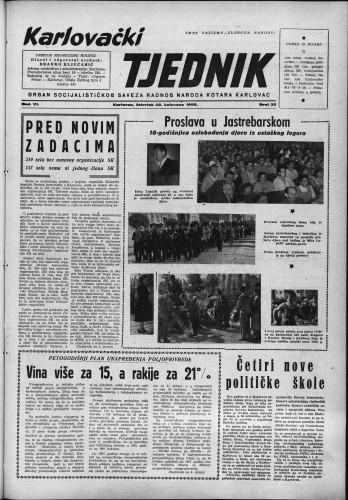 Karlovački tjednik: 1958 • 35