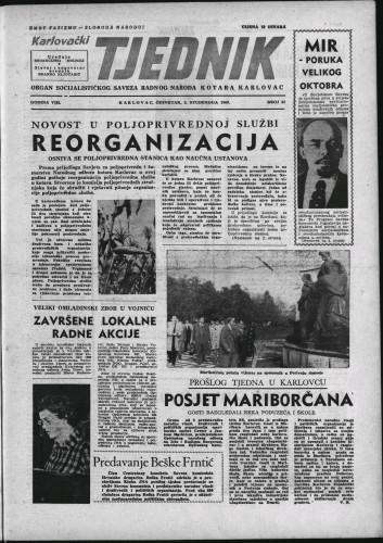 Karlovački tjednik: 1960 • 43