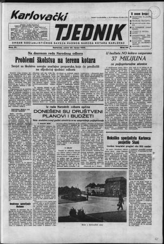 Karlovački tjednik: 1956 • 25
