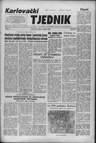 Karlovački tjednik: 1954 • 28