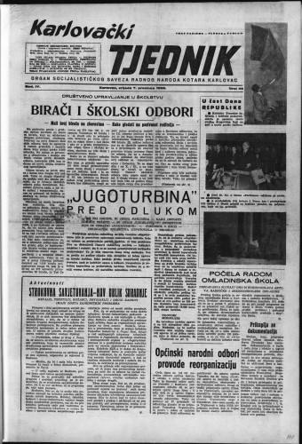 Karlovački tjednik: 1956 • 49