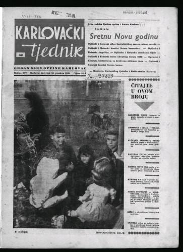 Karlovački tjednik: 1965 • 52