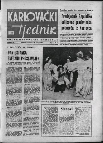 Karlovački tjednik: 1964 • 30