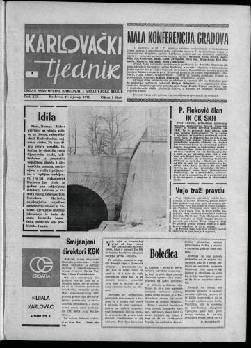 Karlovački tjednik: 1972 • 4