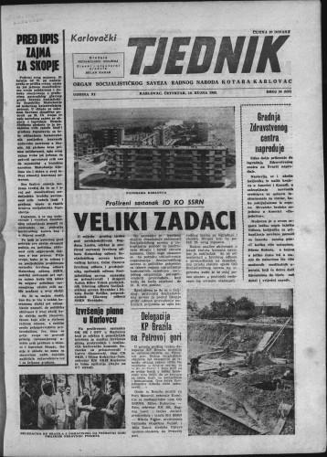 Karlovački tjednik: 1963 • 36