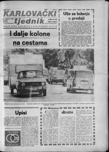 Karlovački tjednik: 1980 • 33