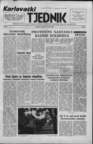 Karlovački tjednik: 1953 • 11