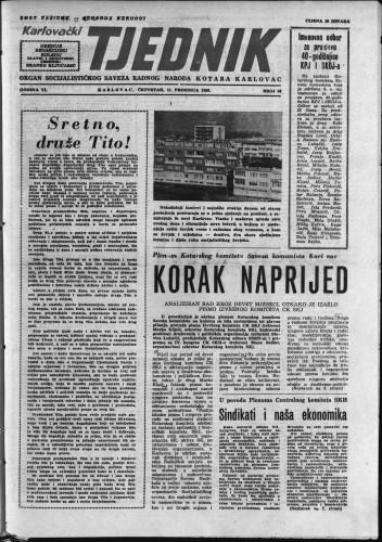 Karlovački tjednik: 1958 • 50