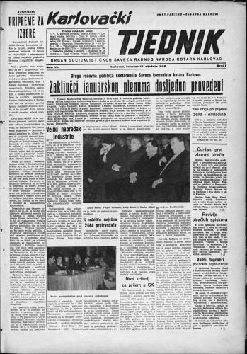Karlovački tjednik: 1958 • 3
