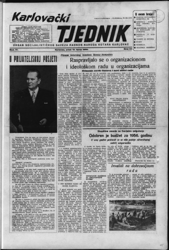 Karlovački tjednik: 1956 • 24