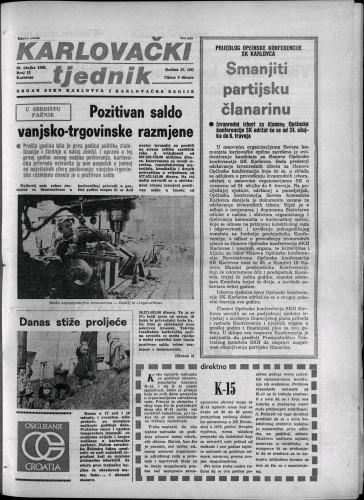Karlovački tjednik: 1980 • 12