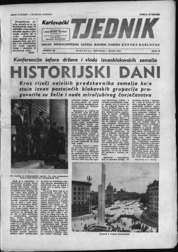Karlovački tjednik: 1961 • 35