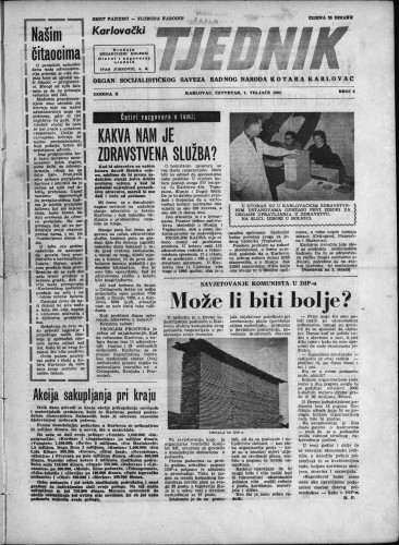 Karlovački tjednik: 1962 • 4