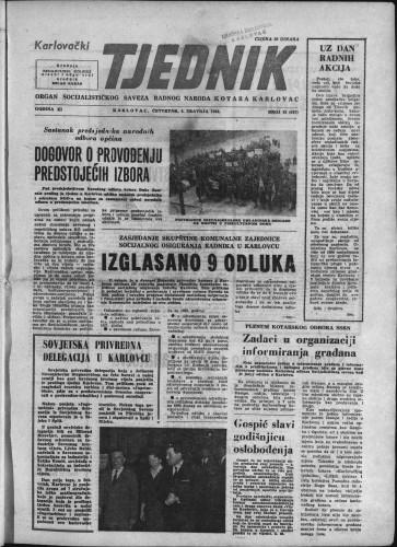 Karlovački tjednik: 1963 • 13