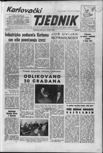 Karlovački tjednik: 1956 • 12