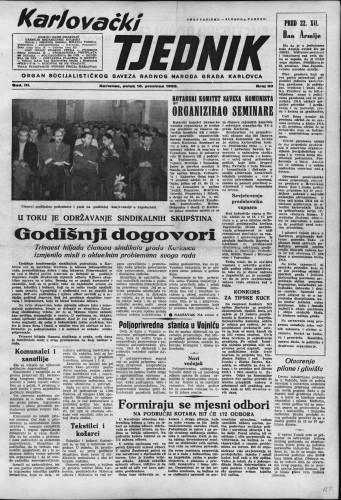 Karlovački tjednik: 1955 • 50