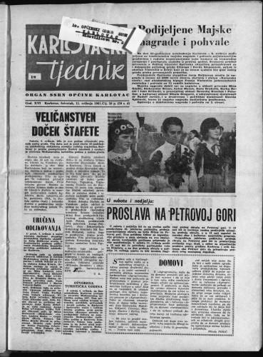 Karlovački tjednik: 1967 • 18