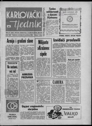 Karlovački tjednik: 1972 • 51