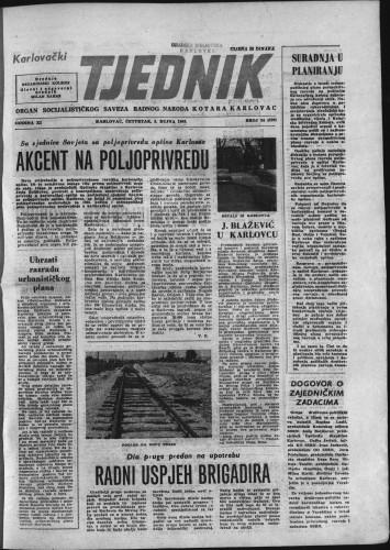 Karlovački tjednik: 1963 • 34