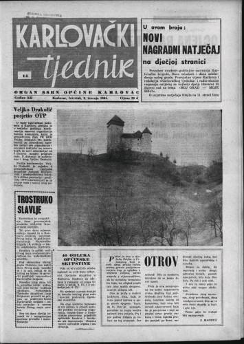 Karlovački tjednik: 1964 • 14