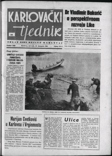 Karlovački tjednik: 1964 • 42