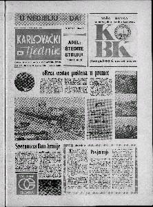 Karlovački tjednik: 1973 • 51