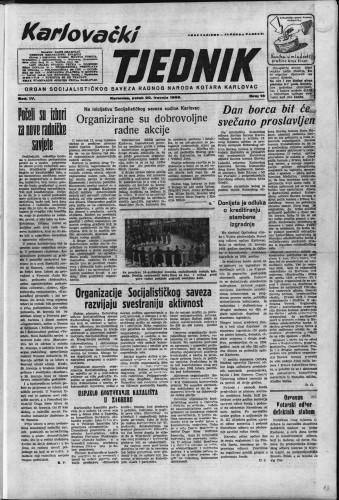 Karlovački tjednik: 1956 • 16