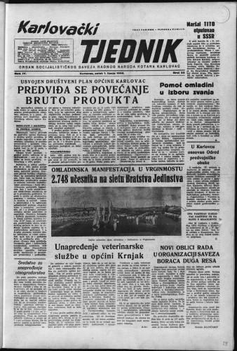 Karlovački tjednik: 1956 • 22