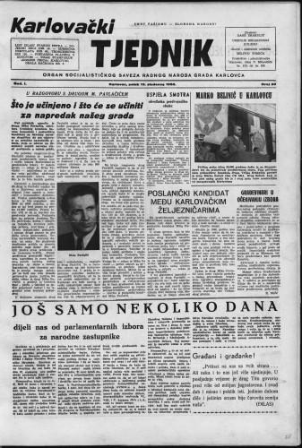 Karlovački tjednik: 1953 • 20