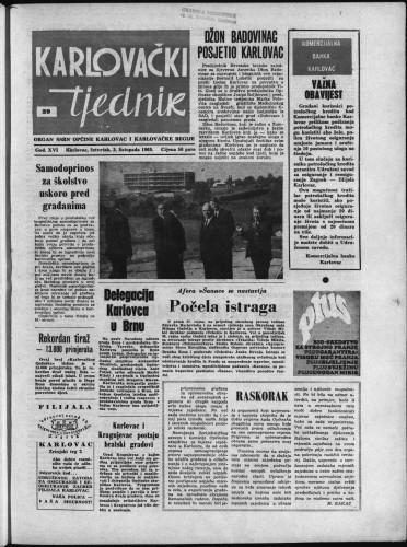 Karlovački tjednik: 1968 • 39