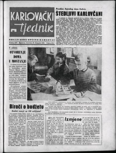 Karlovački tjednik: 1965 • 43